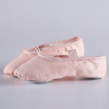 Canvas ballet flats Soft Balleria Dance Shoe For Women Split Cow Leather  Outsoles Gym Yoga Sport Shoes Girls Toe Shose Women 5a2710184136