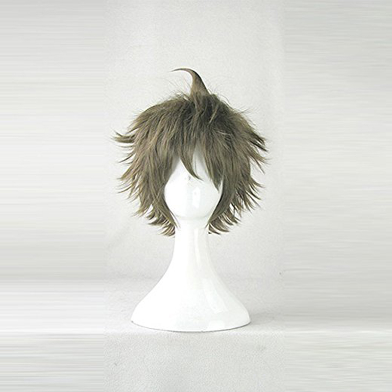 Super Dangan Ronpa 2 Danganronpa Hajime Hinata Male Lead Cosplay Wig Synthetic Short Hair