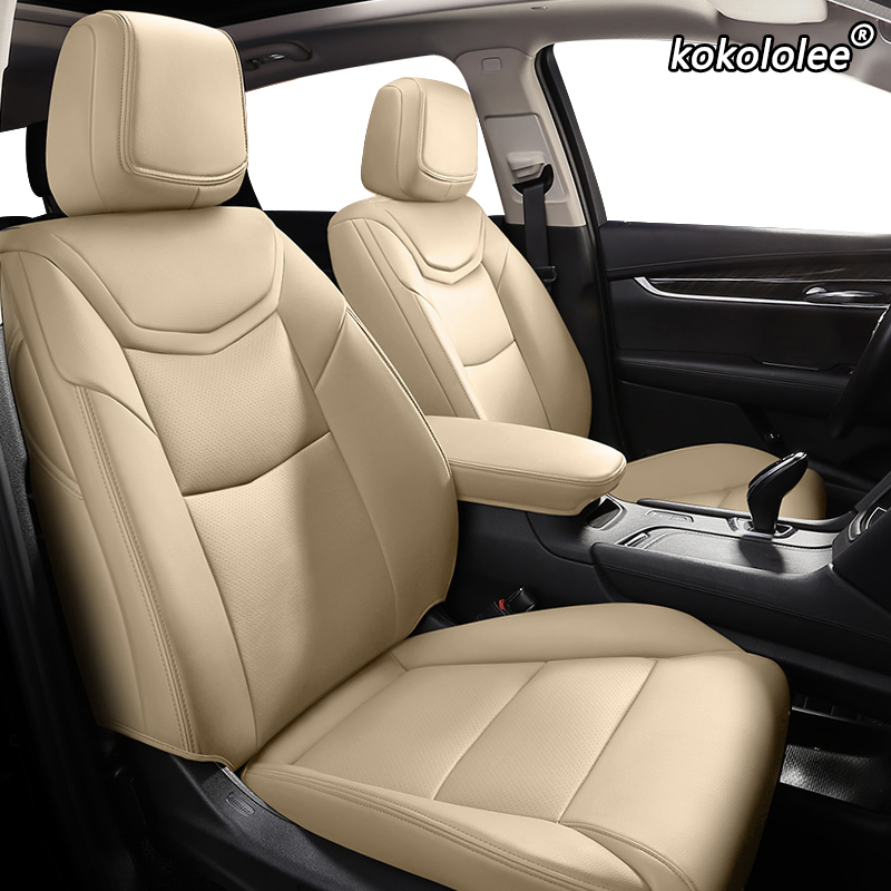 Kokololee Custom Leather Car Seat Cover For Honda Accord Odyssey FIT CITY Crosstour Crider VEZEL AVANCIER CR-V XR-V Civic Covers