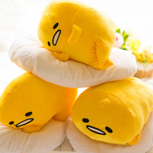 40*30cm Gudetama Lazy Egg Egg jun Plush Toy Egg Yolk Brother Large Pillow Lazy Balls Stuffed doll For Children Friend Gift