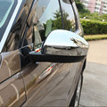Car Chrome Door Rearview Mirror Decorative Sticker Cover Frame For Land Rover Discovery Sport 2015 2016 Car Accessories