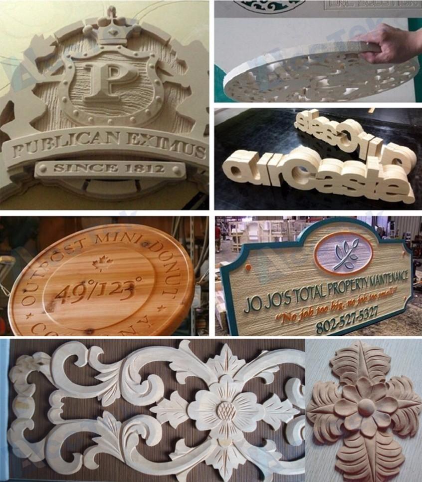 samples of cnc wood carving machine 1224