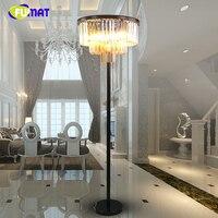 FUMAT Loft K9 Crystal Floor Lamp Crystal Floor Light For Living Room Bedside Vintage LED Lustre Stand Lamp Floor Lights
