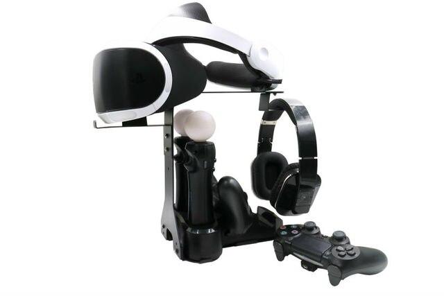 PlayStation VR Зарядки Зарядка Станция Отображения Витрина Стенд Док Зарядки Подставка для Playstation VR PlayStation 4, PS4 Контроллер