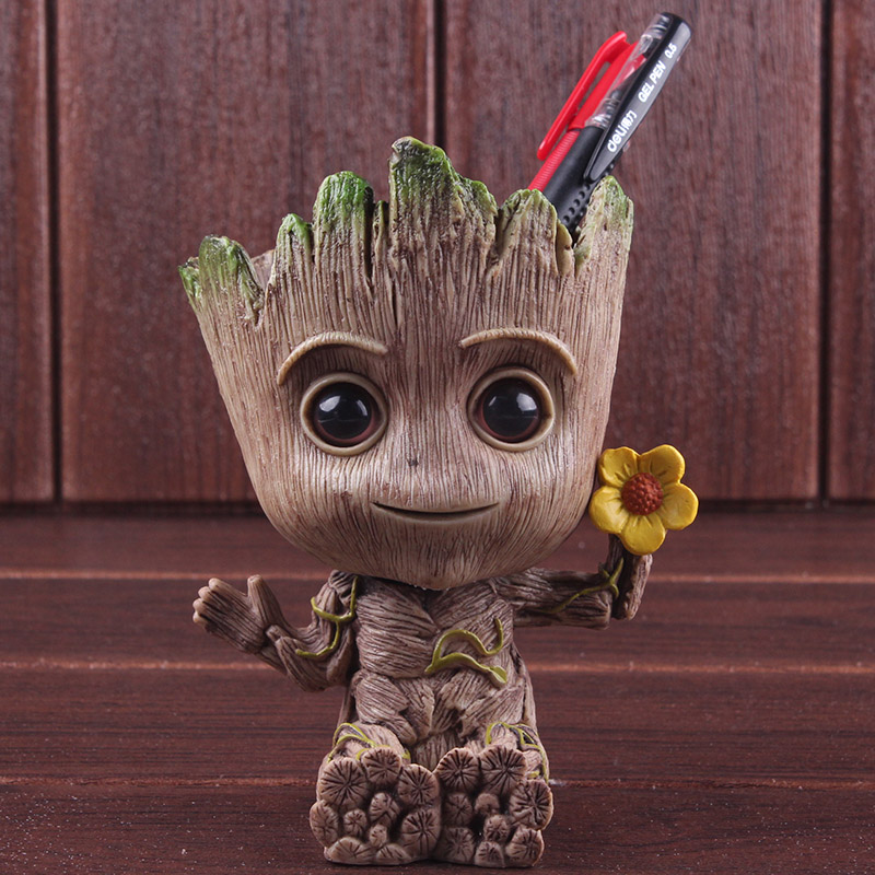 action-figures-font-b-marvel-b-font-guardians-of-the-galaxy-tree-man-kawaii-figure-pen-holder-pvc-collectible-model-toy