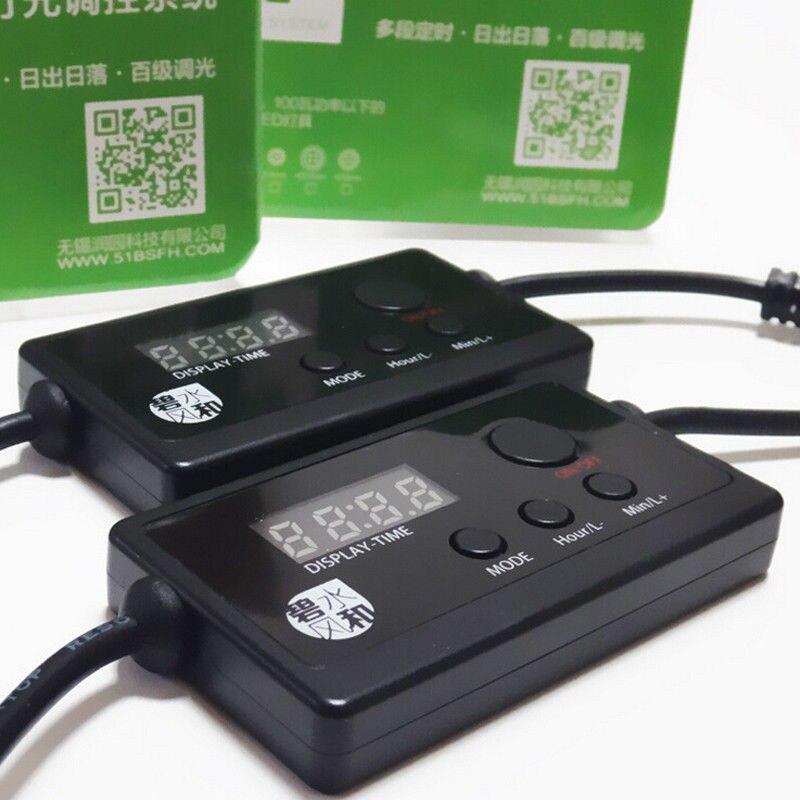 LED Licht Dimmer Controller Modulator Für Aquarium Aquarium Led Intelligente Beleuchtung Timing Dimmen System