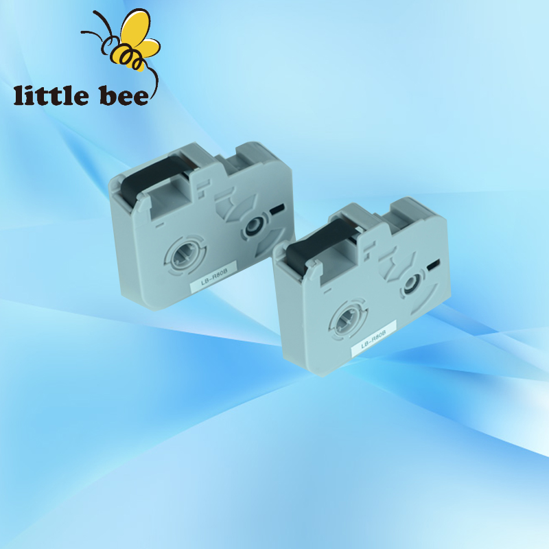 ink ribbon cassette LB R80B Black for cable ID printer electronic lettering machine tube printer BEE100