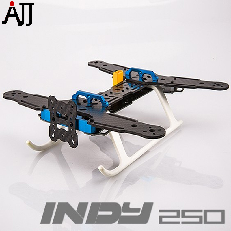 ᑎ‰Indy 250 mini FPV Racing quadcopter Marcos carbono completo kit ...