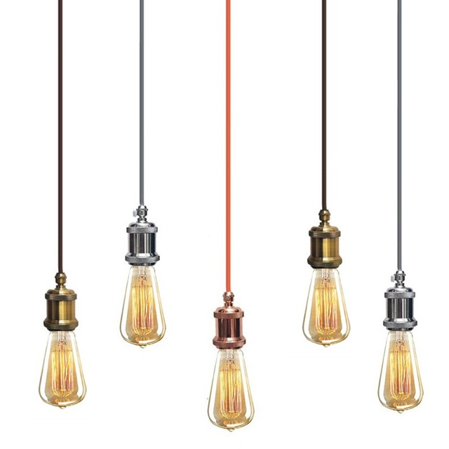 Us 7 95 47 Off Kitchen Pendant Light Bar Lighting Office Hotel Diy Pendant Lights Vintage Industrial Pendant Ceiling Lamp Free Shipping In Pendant