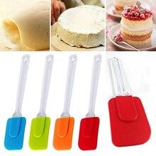 1 шт. многоцелевой торт высокой термостойкости шпатель модель торта полезный скребок посуда силикагель инструмент для торта случайный цвет