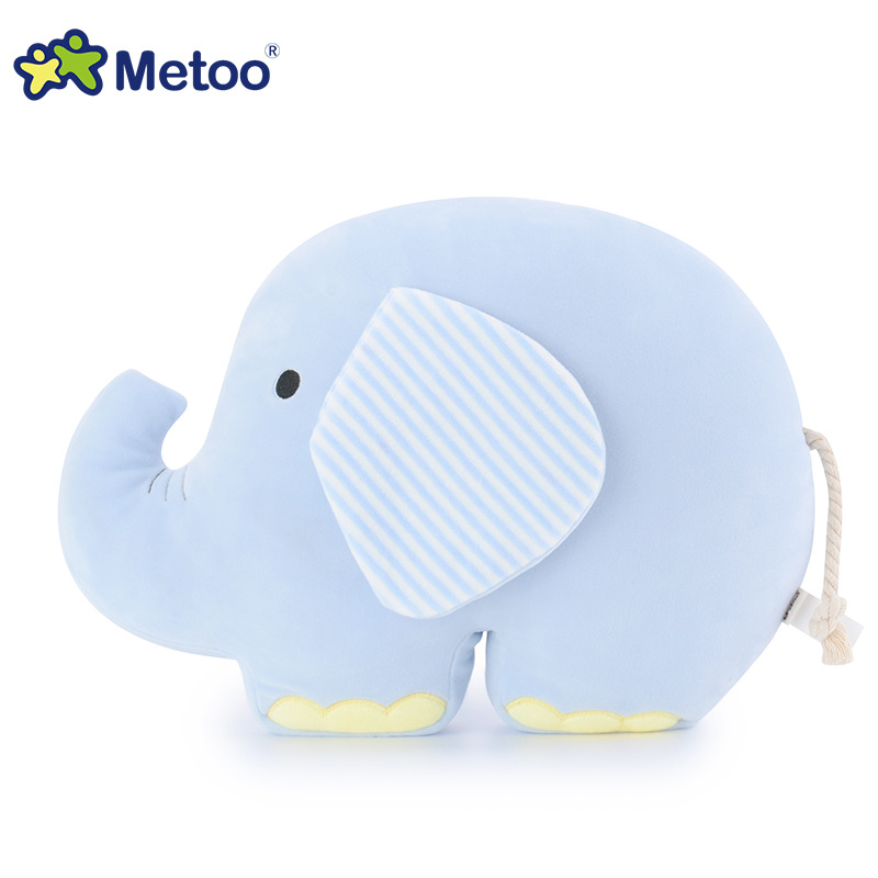 Kawaii Plush Stuffed Animal Cartoon Kids Toys for Girls Children Baby Birthday Christmas Gift Elephant Pillow Metoo Doll ynynoo cute plush tiger animal toys white yellow lovely stuffed doll animal pillow children kids birthday gift 25cm z294