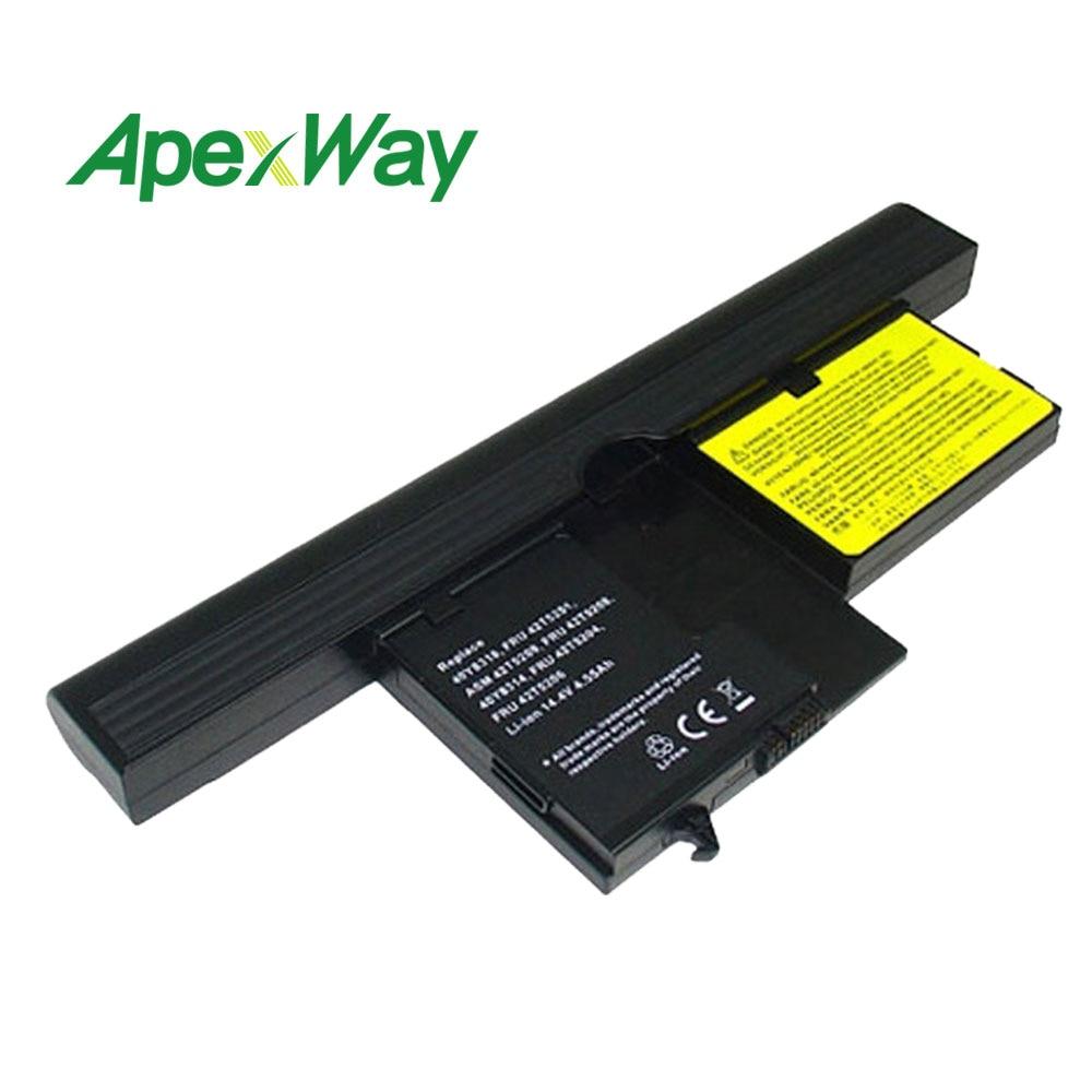 14.4v 8 Cells Laptop Battery For Lenovo ThinkPad X61 X61t X60 40Y8314 40Y8318 ASM 42T5209 FRU 42T5204  FRU 42T5206 FRU 42T5204
