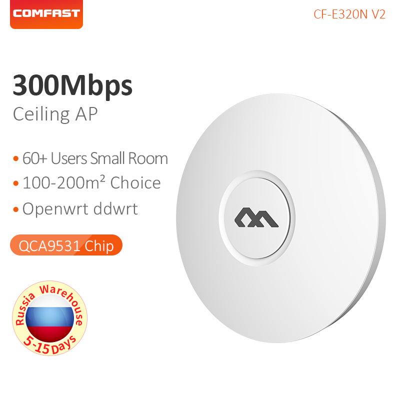 Comfast Repeater Amplifier Wifi-Router Access-Point-Wi 300mbps Ceiling-Mount Network-2.4g