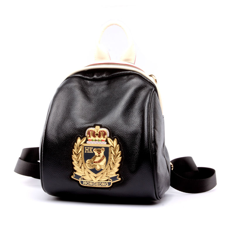 2017 Hot Fashion Genuine Leather Women Backpack Lady Women's Backpacks Female school Cartoon school Girls Casual Travel bag Bags new gravity falls backpack casual backpacks teenagers school bag men women s student school bags travel shoulder bag laptop bags