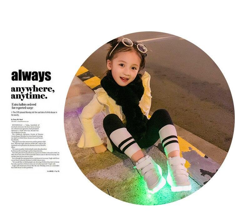 Sapatilhas com Rodas De Roller Skate glowing