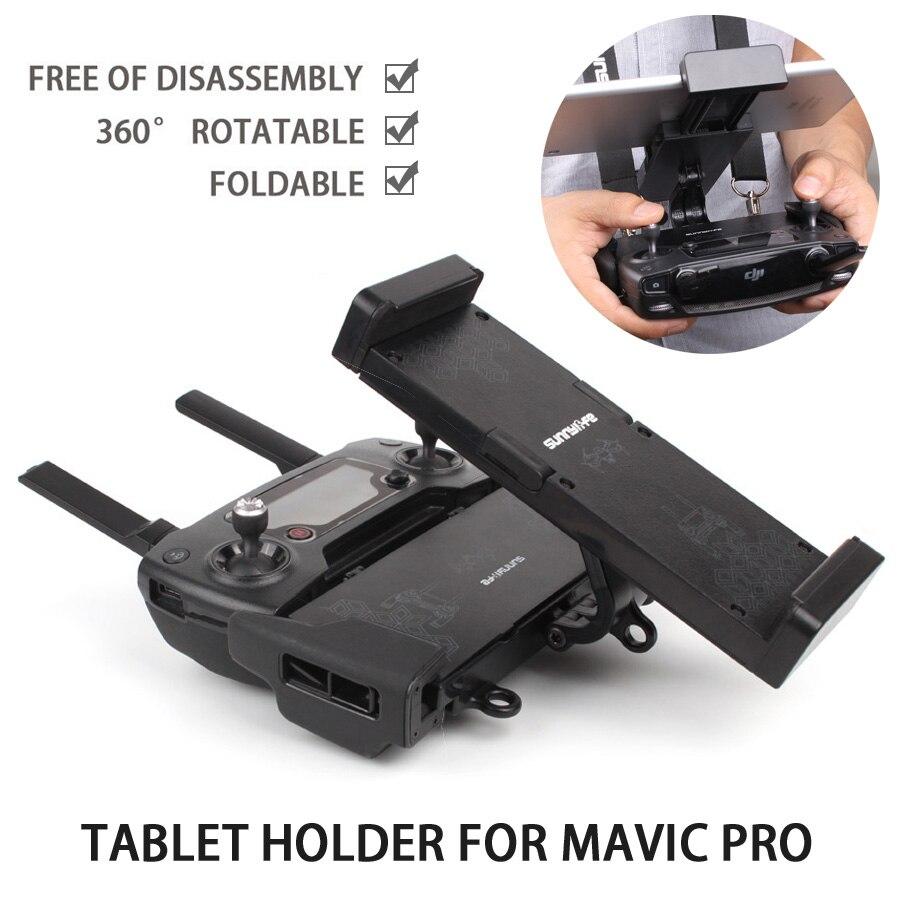 Remote Controller Tablet Bracket Holder Smartphone Foldable Extended Holder Multifunction for DJI MAVIC PRO