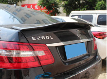 For  Benz W212 W213 W205 CLA E320LE260LE300L Renntech style spoiler carbon fibre Material Car Rear Wing for 4 doors
