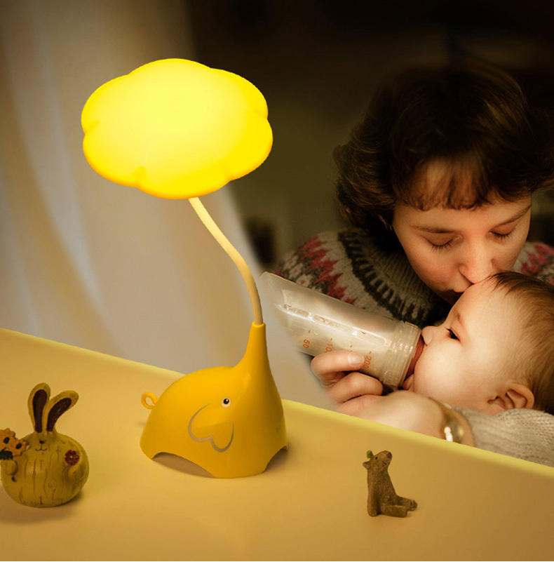 Cute LED Table Lamps Luminaire Touch Switch Study Desk Lamp Children Student Reading Book USB Rechargeable Bedside Lamps cute led table lamps luminaire touch switch study desk lamp children student reading book usb rechargeable bedside lamps