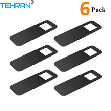 6Pack TEHRAN Webcam Cover Shutter Magnet Slider Plastic Came