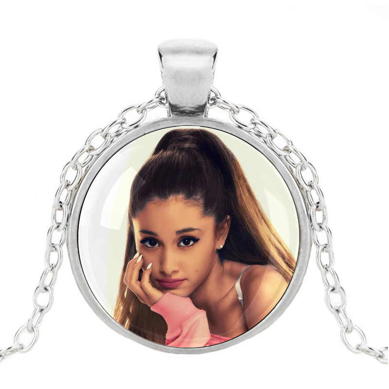 Ariana Grande Necklace Album Cover No Tears Left to Cry Pendant God Is a Woman Torque Break Free For Fans Gifts T Shirt Hoodie