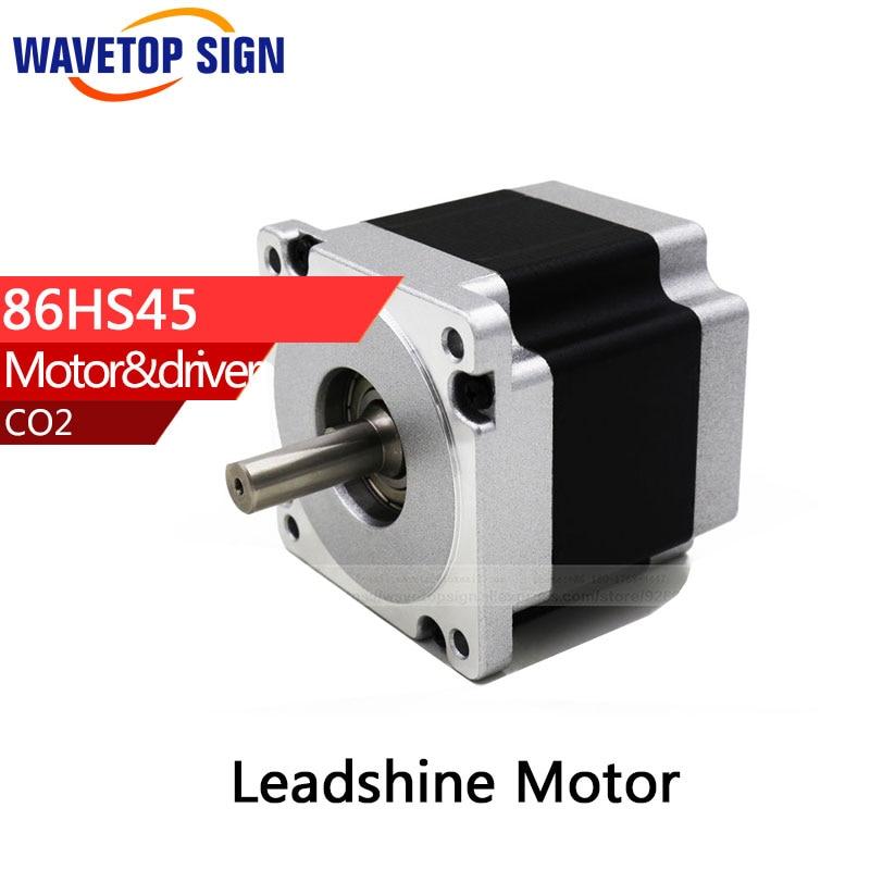 Leadshine 2 phase Stepper Motor 86HS45 for NEMA34 2 phase stepper motor and drive m542 86hs45 4 5n m new