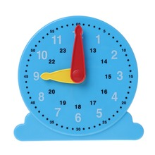 New Scientific Cognition Clock Education Toy Baby Early Learning Kids