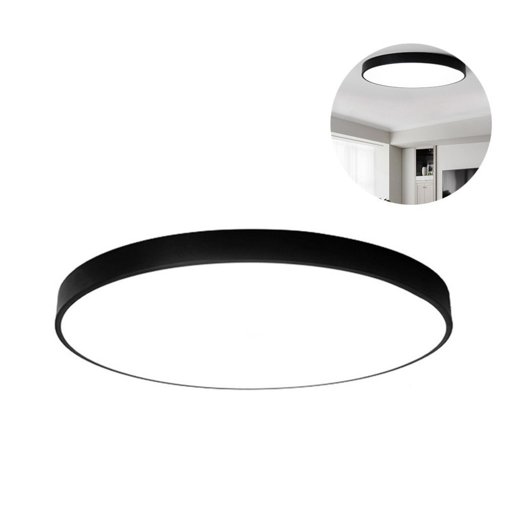 Xsky Ultra-thin Creative Circular LED Ceiling Lamp Modern Simple Ceiling Lights LED Living Room Dimming Acryl Lamp Home Lighting