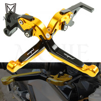 For Bajaj Pulsar 200 NS 200 RS 200 AS 200NS 200RS 200AS Motorcycle Accessories Adjustable Folding Extendable Brake Clutch Levers