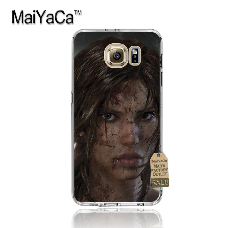 MaiYaCa Tomb Raider Multi Colors Luxury phone case for samsung galaxy s6 s7 edge s6 edge plus s5 s4 s8 plus case