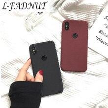 L-FADNUT Business Matte Soft Case For Xiaomi Mi 8 Lite 8 Pro