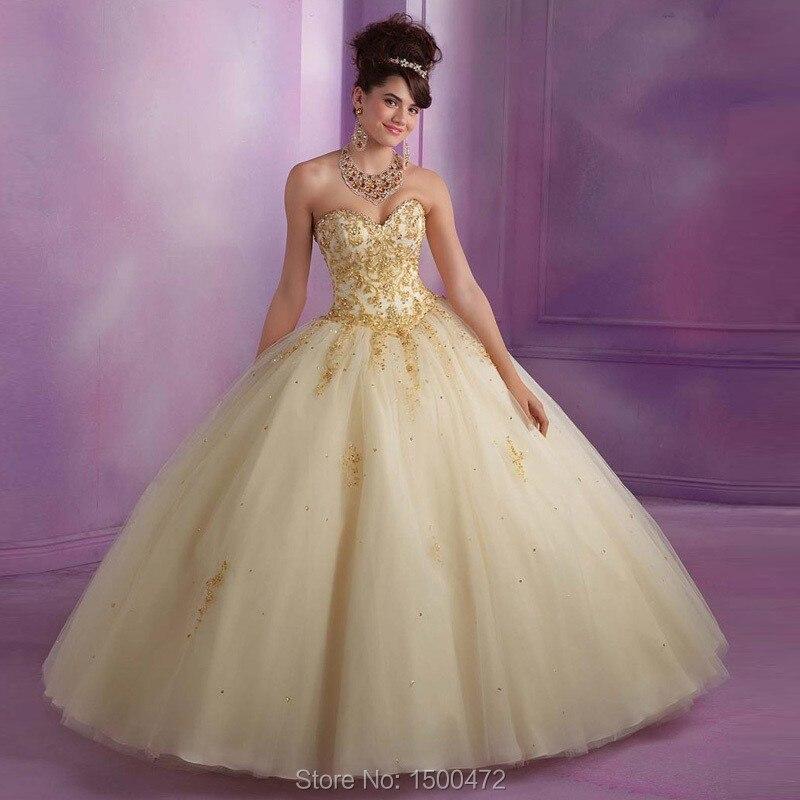 Popular Short Gold Sweet 16 Dresses-Buy Cheap Short Gold Sweet 16 ...