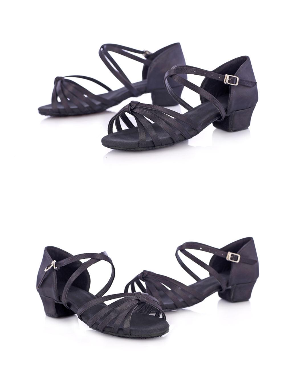 New Arrival Ballroom Tango Latin Dance Shoes High Quality Latin Woman Dancing Shoe Wholesale Women'S Heel Shoes Fast Shipping (11)