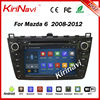 KiriNavi Android 4 4 4 Car Radio For Mazda 6 2008 2009 2010 2011 2012 Car