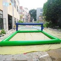 Прочный надувные спортивные игры воды надувной пляжный Волейбол суд