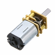 цена на 1pc High Torque Mini Electric DC Geared Motor 60 RPM 6V 0.3A For Robot With 3mm Diameter Shaft And 2 Pin Connectors