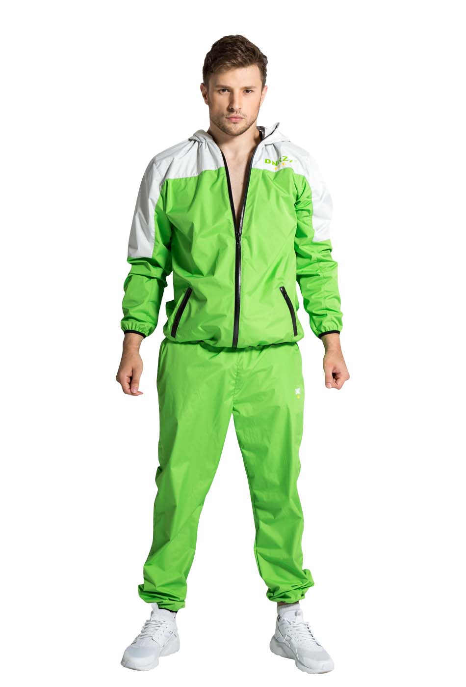 Green Chanel Jogging Suits