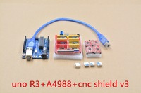 Cnc Shield V3 3d Printer Expansion Board Engraving Machine A4988 Driver Board With 4pcs A4988 With