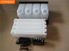 Bulk ink system with chip decoder for Epson SC30670 (4 bottles + 4 cartridges+ 1 decoder)