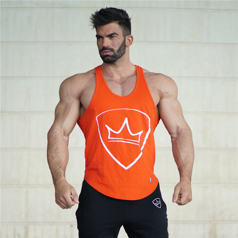 NANSHA 2019 fitness   tank     tops   men gyms stringer mens canotta bodybuilding shirt sleeveless vest cotton clothing