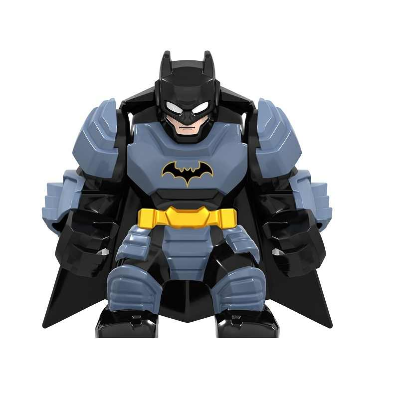 LegoING DC Marvel Super Heroes Avengers Batman Bruce Wayne Justiça Endgame Ação Minifigured Blocos Crianças Brinquedos de Presente