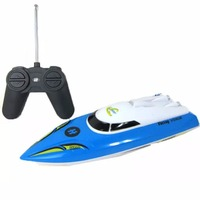 Remote Control Boats Electric RC Boats Waterproof Toys Blue