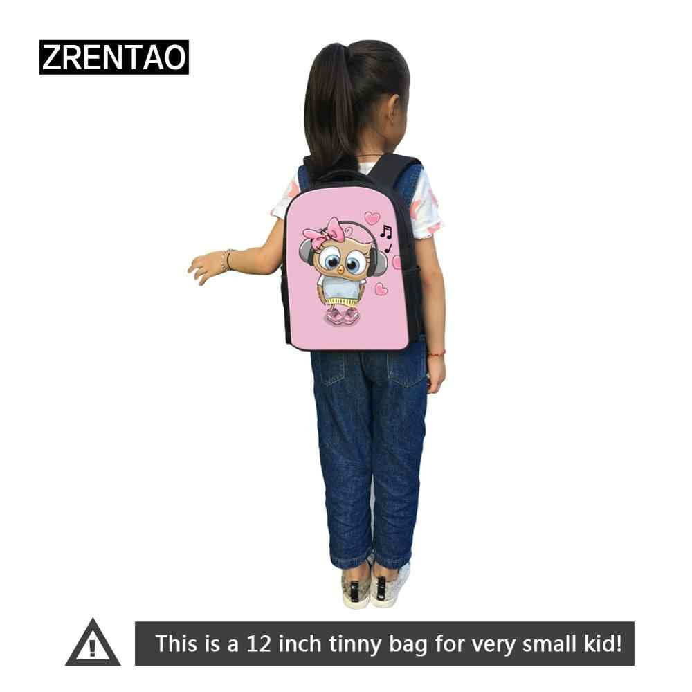 Black/Blue Small Knapsack Bags For Preschool Babies Bookbag Nursery School Boy Girl Backpack Casual Trip Daypacks Drop Shipping