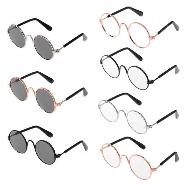 810820fc93f Pet Glasses Costume Sunglasses Round Funny Fashion Props Dog Cat Supply  Products