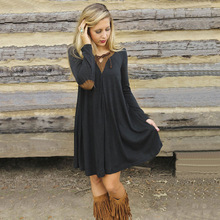 Hot Sale Female Dress Plus Size Pregnancy Dresses Lady's Clothes for Pregnant Women Autumn Long Sleeve Casual Maternity Clothing