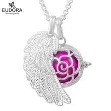 2018 подвеска в виде цветка крыла ангела ожерелье гармония бола