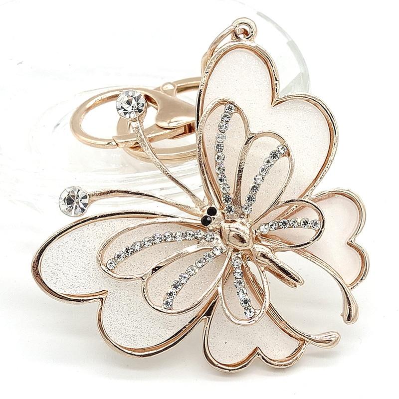 Брелок-гаманець сумка зі стразами кристал CZ брелок брелок шарм кулон подарунок метелик G270