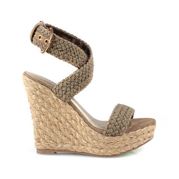 52b0017a6023 FREE SHIPPING Women s Bohemian Braided Platform Wedge Sandals Ladies Fashion  Summer Shoes Buckle Strap Beige Black Brown-in Women s Sandals from Shoes  on ...