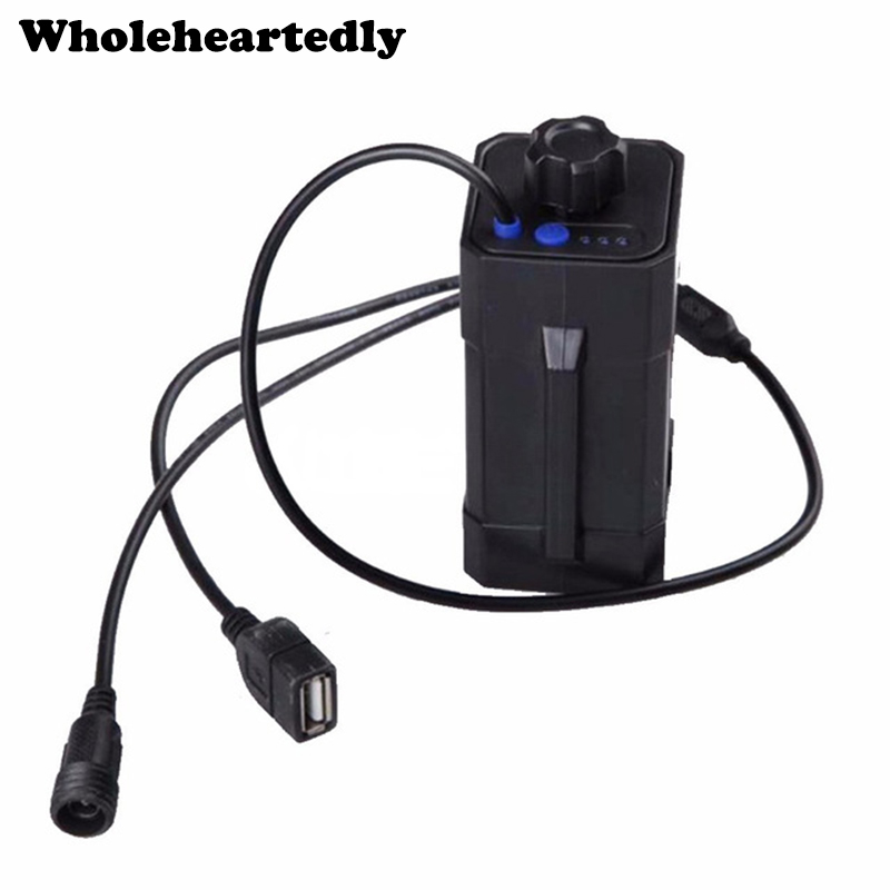 Wholesale Price Waterproof ABS 8.4V 4 x <font><b>18650</b></font> Power Battery Storage Pack Case <font><b>Box</b></font> Holder For <font><b>Bike</b></font> LED Light image