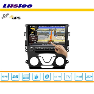 Liislee Car Radio For Ford Fusion 2014~2015 GPS Nav Navi Map Navigation Stereo Audio Video CD DVD Player S160 Multimedia System