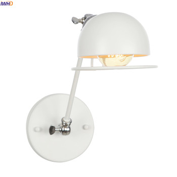 IWHD White Swing Long Arm Wall Lamp Vintage Bedroom Bathroom Mirror Industrial Loft Style Retro Wall Lights Fixtures Edison LED iwhd white swing long arm wall lamp vintage bedroom bathroom mirror industrial loft style retro wall lights fixtures edison led